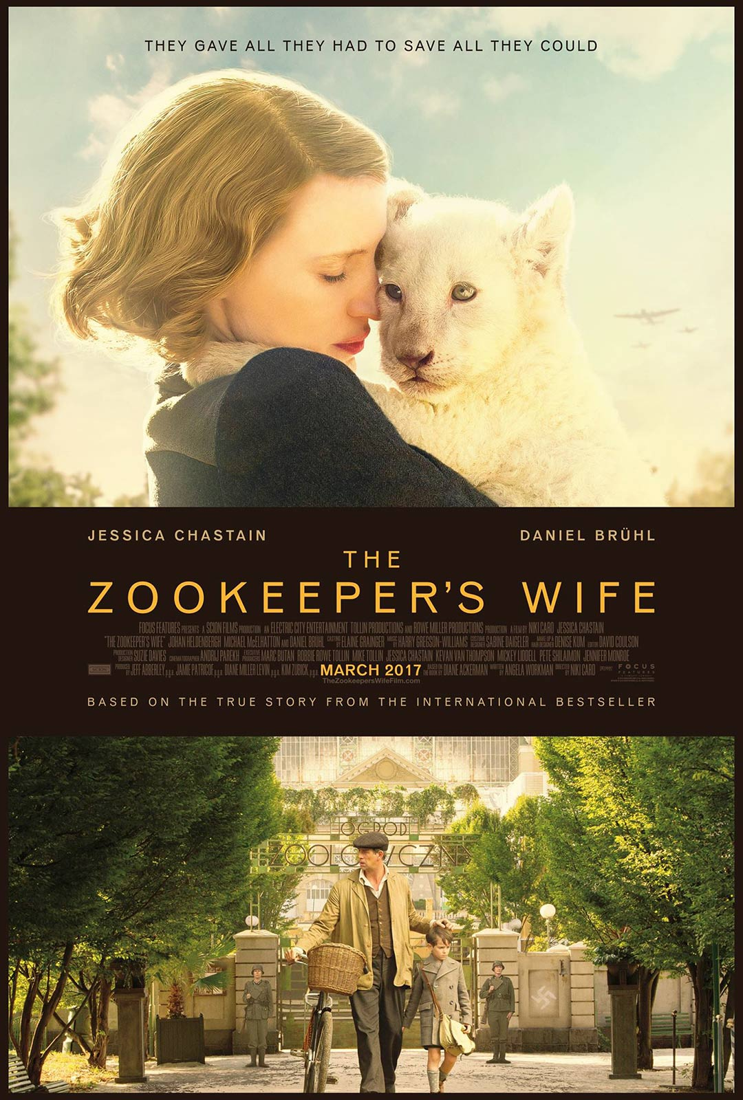 The Zookeeper's Wife Poster #1