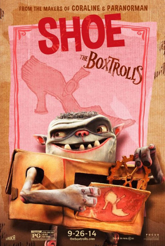 The Boxtrolls Poster #8