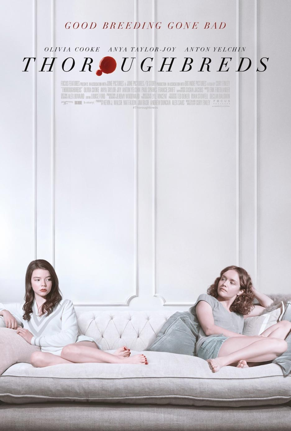 Thoroughbreds (2017) Poster #1 - Trailer Addict