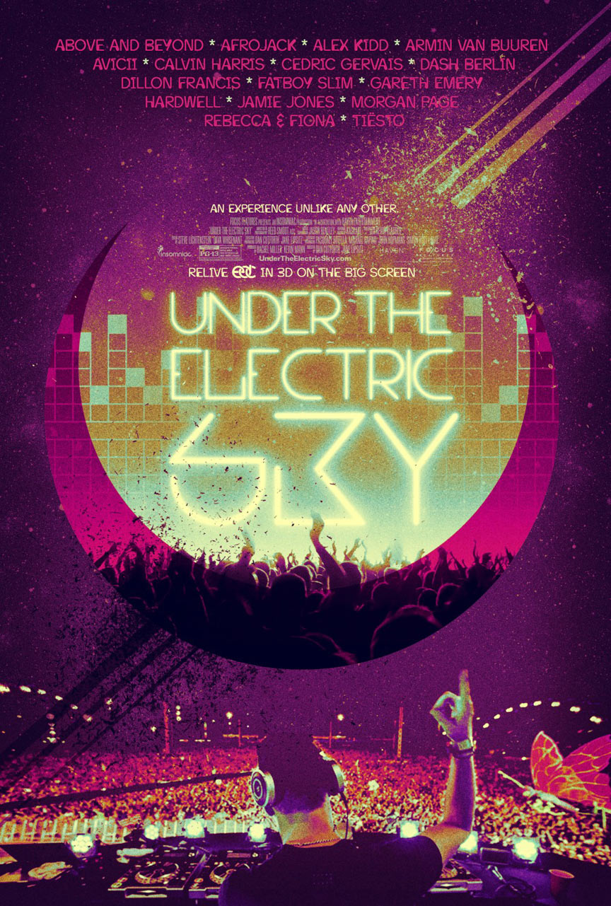 EDC 2013: Under the Electric Sky Poster #2