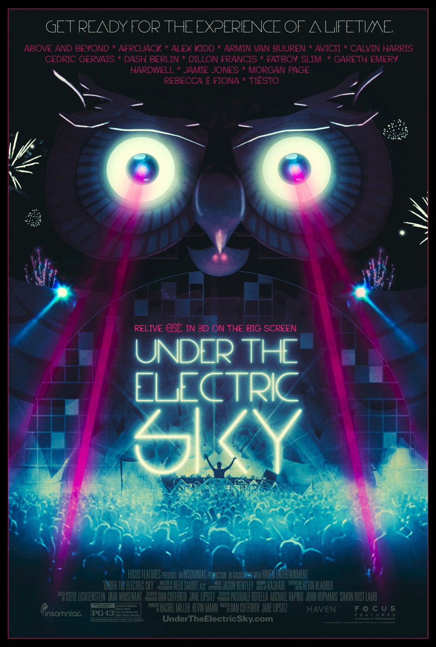 EDC 2013: Under the Electric Sky Poster #3