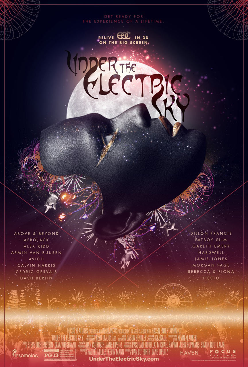 EDC 2013: Under the Electric Sky Poster #4