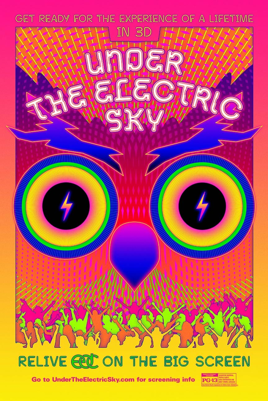 EDC 2013: Under the Electric Sky Poster #1