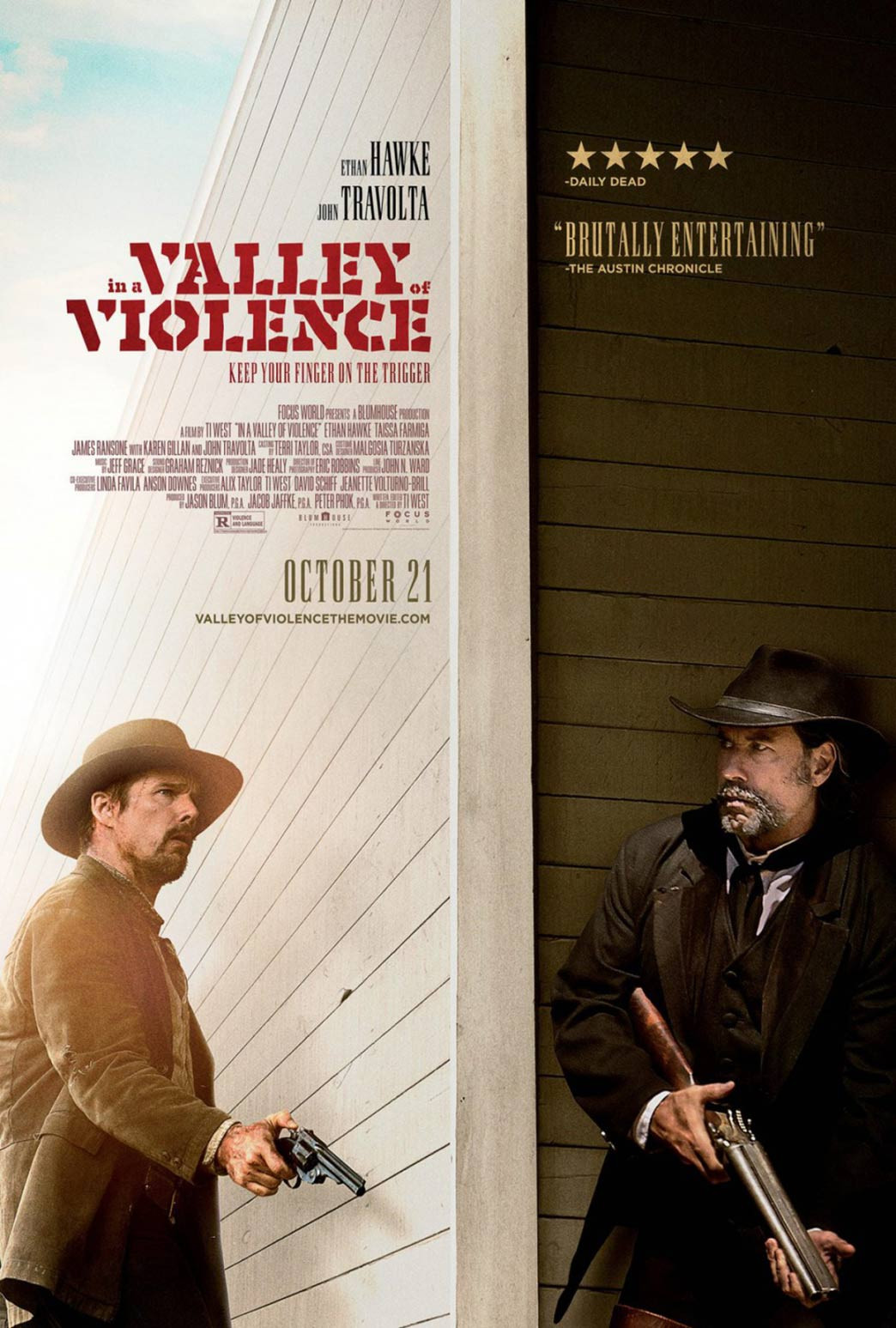 In a Valley of Violence Poster #2