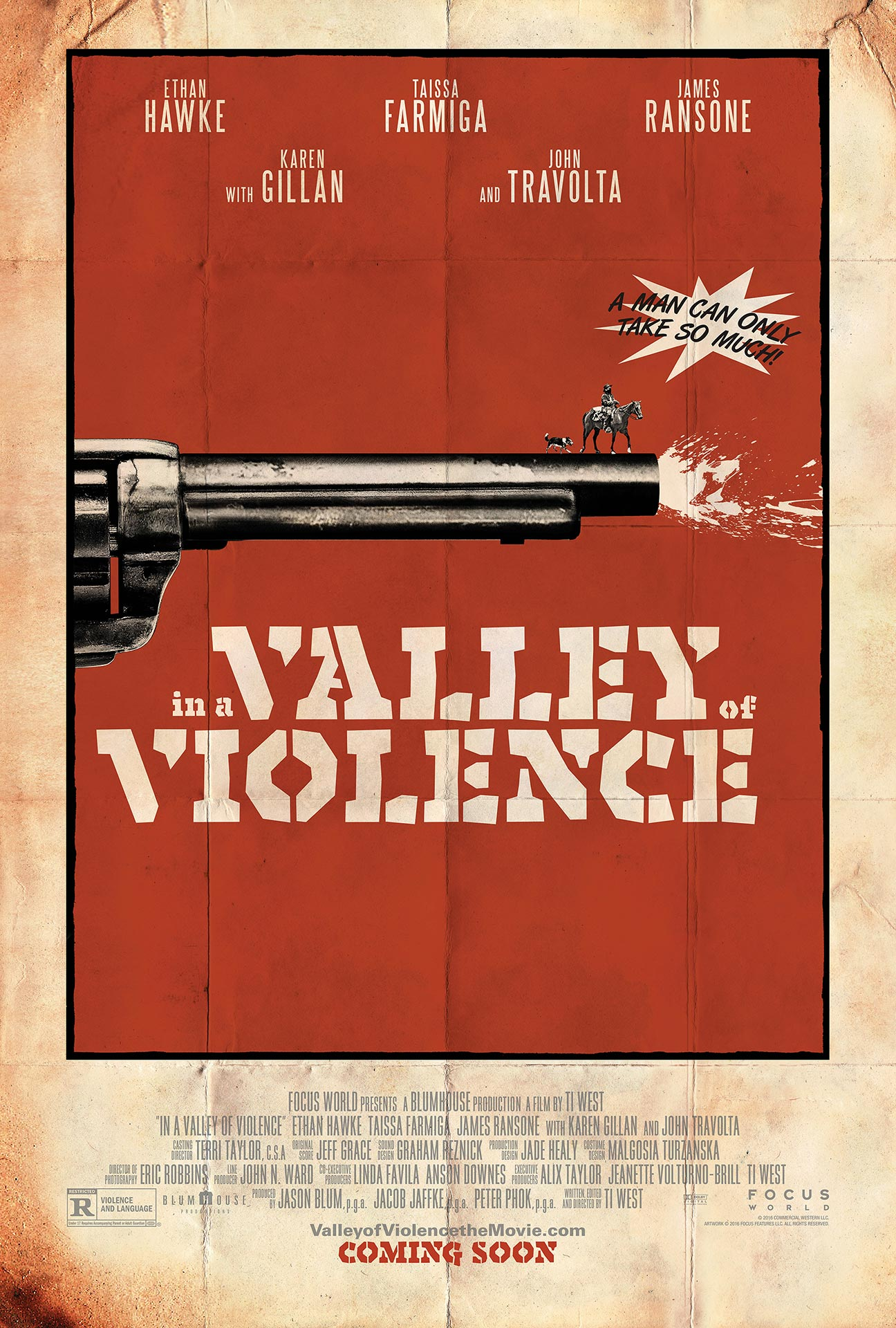 In a Valley of Violence Poster #1