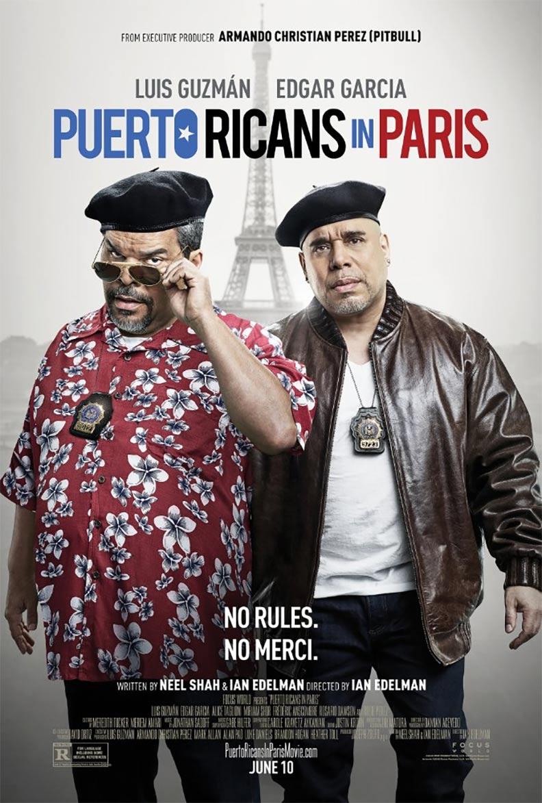 Puerto Ricans in Paris Poster #1