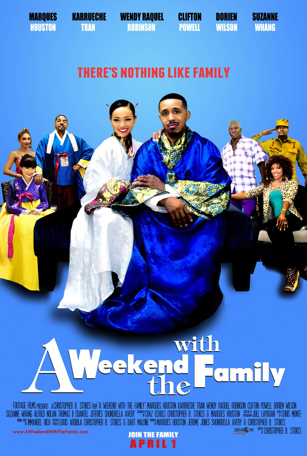 A Weekend with the Family Poster #1