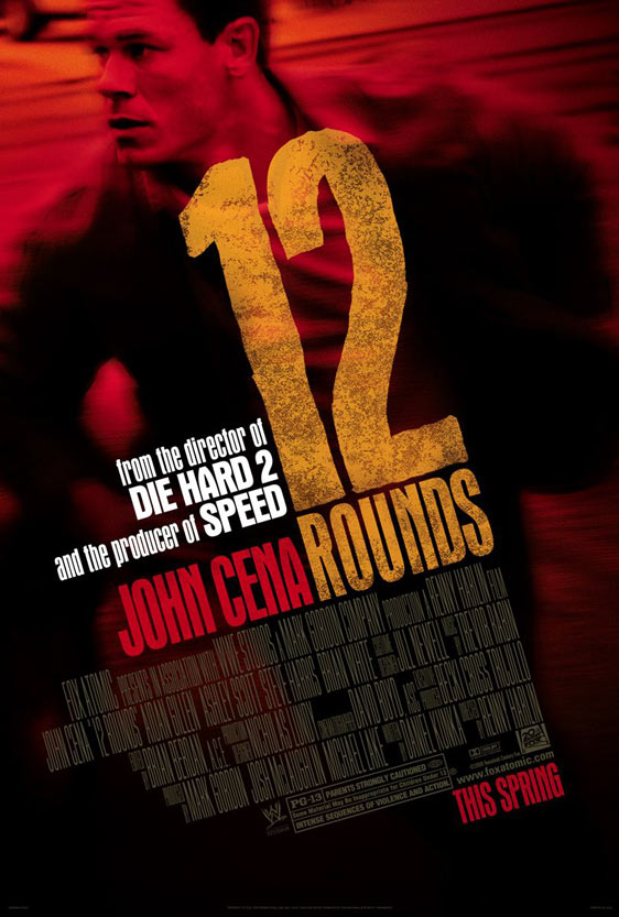 12 Rounds Poster #1