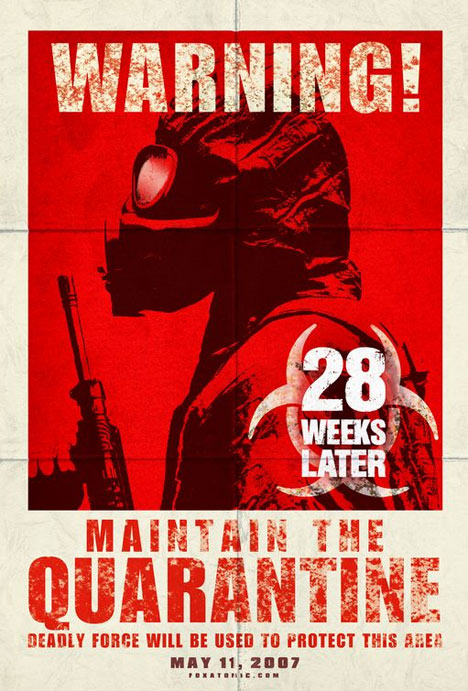 28 Weeks Later Poster #1