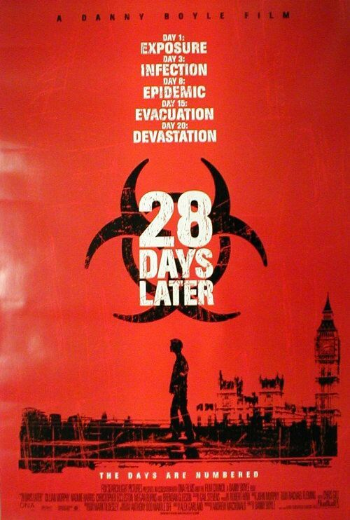 28 Days Later Poster #1