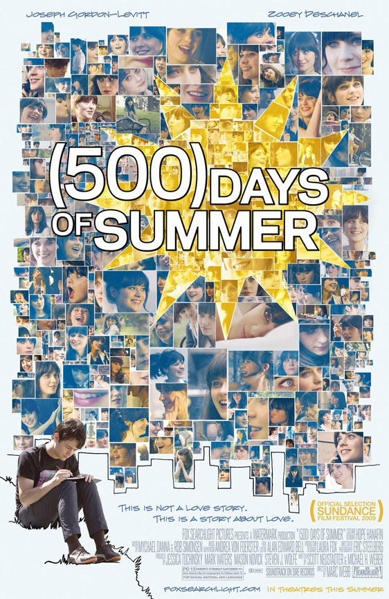 500 Days of Summer Poster #1