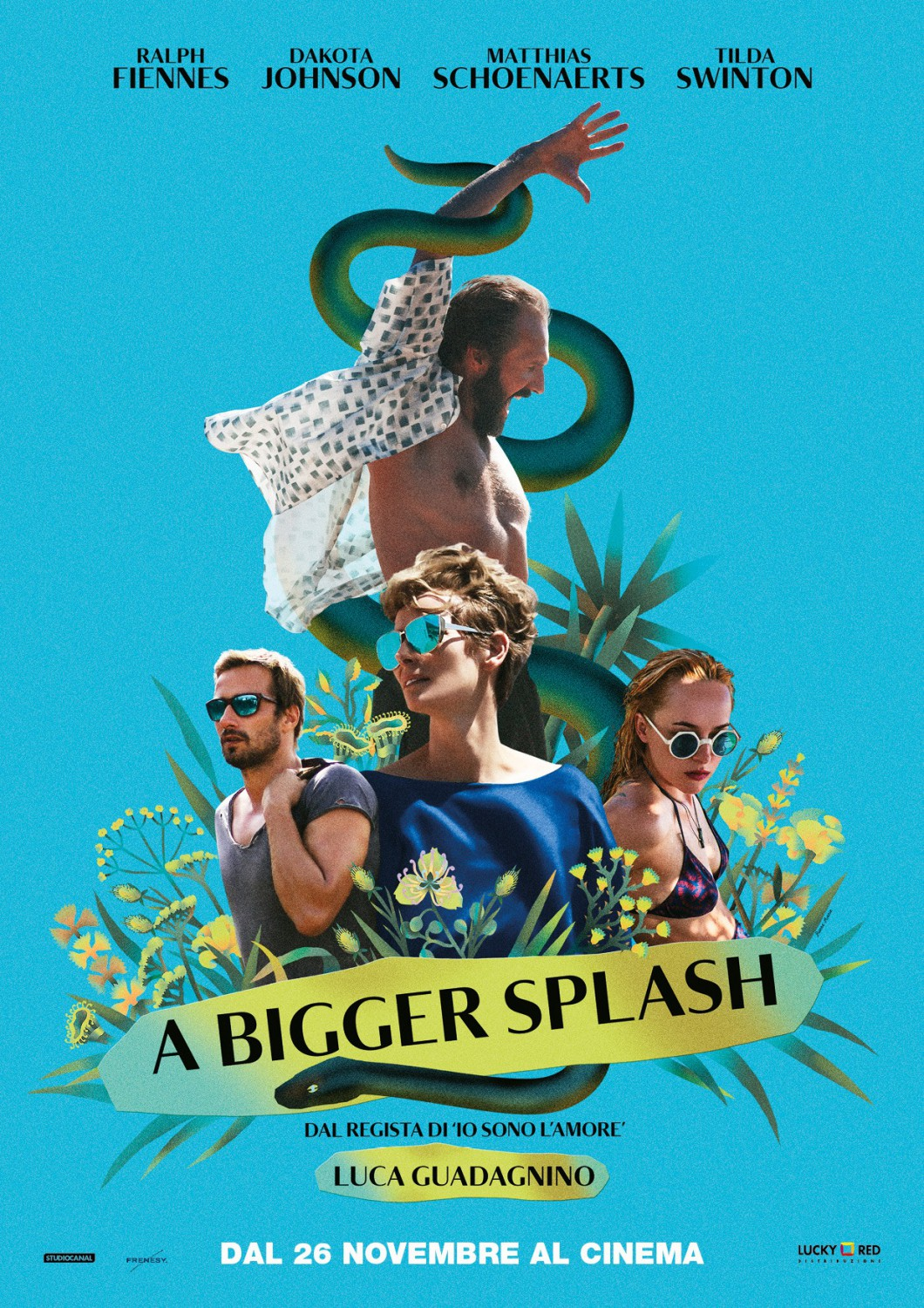 A Bigger Splash Poster #1