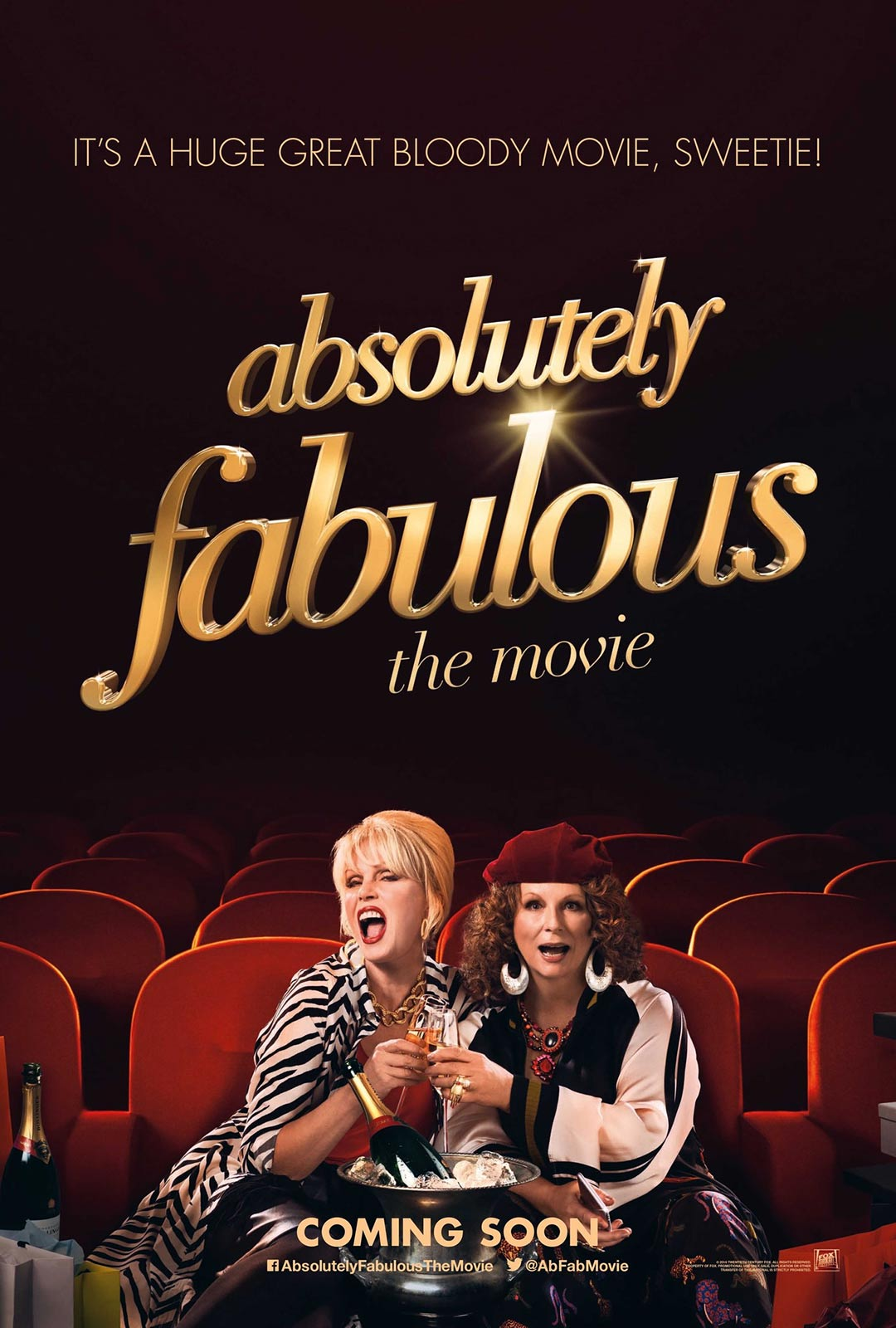 Absolutely Fabulous: The Movie Poster #1
