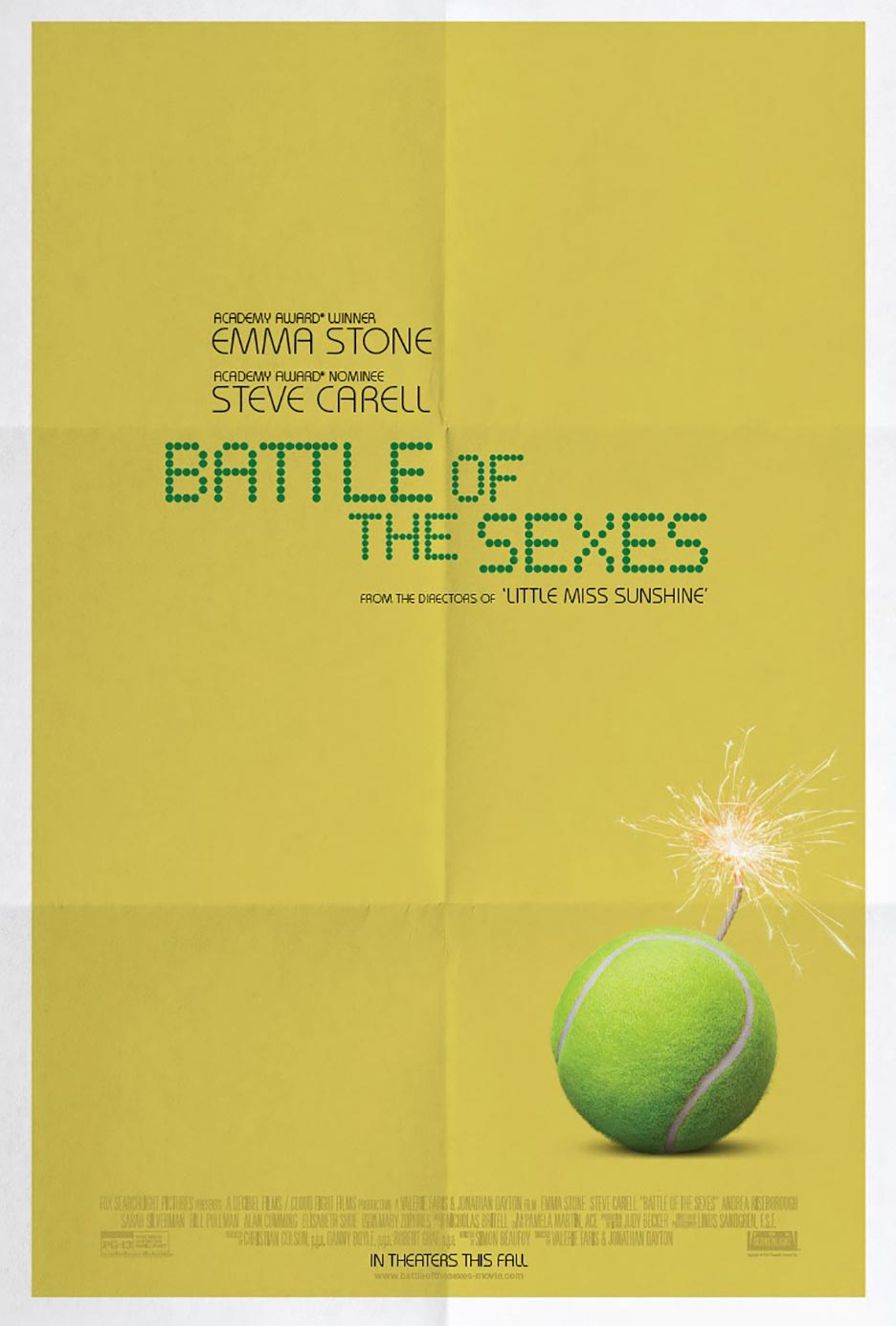 Battle of the Sexes Poster #1