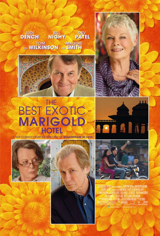 The Best Exotic Marigold Hotel Poster #4