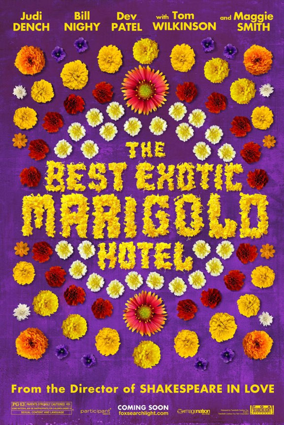 The Best Exotic Marigold Hotel Poster #1
