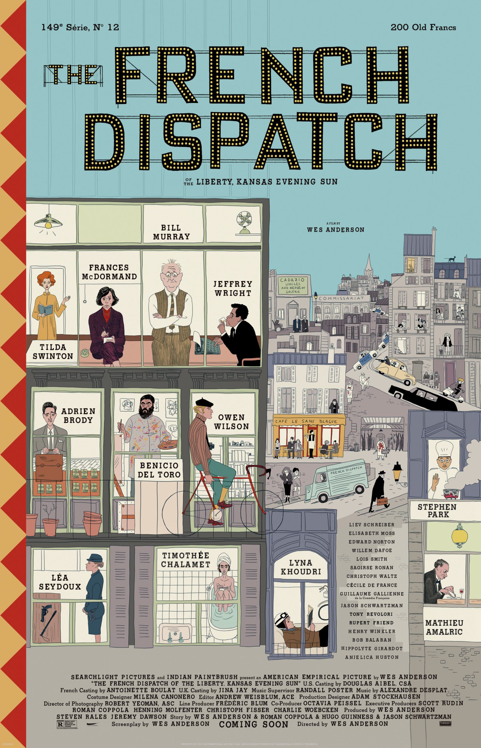 The French Dispatch Poster #1