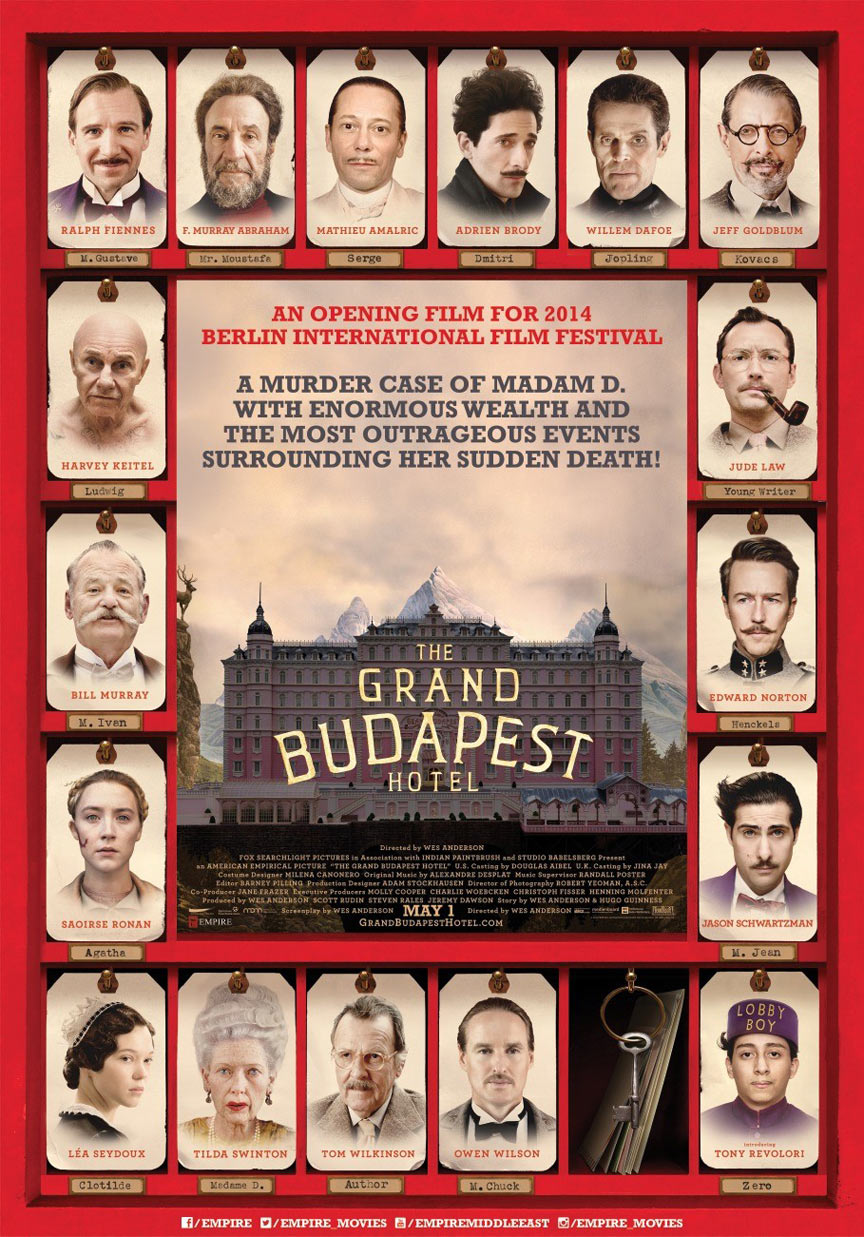 The Grand Budapest Hotel Poster #17