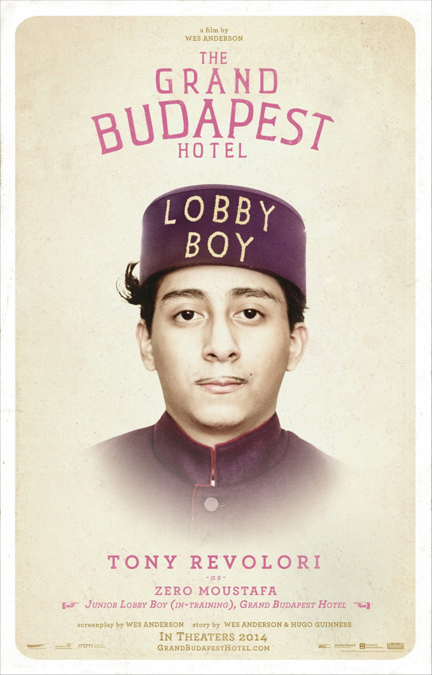 The Grand Budapest Hotel Poster #2