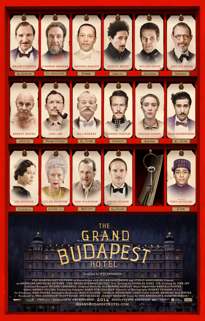 The Grand Budapest Hotel Poster #5