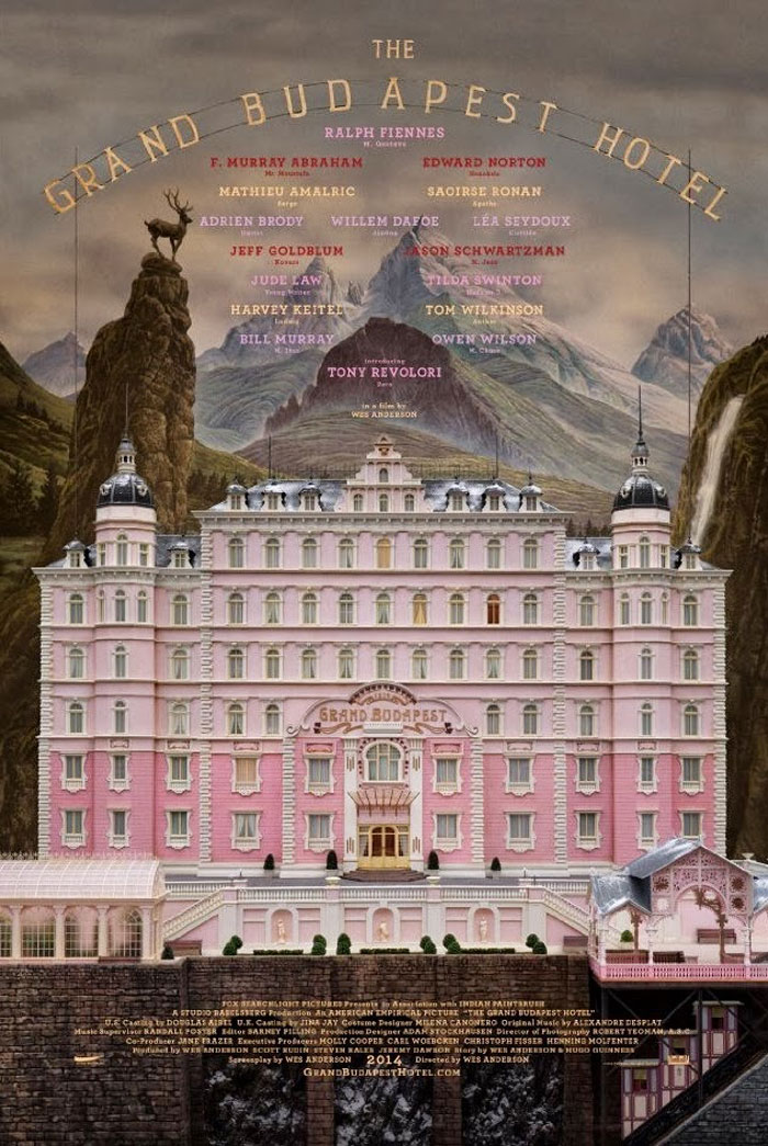 The Grand Budapest Hotel Poster #1