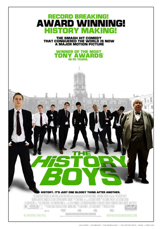 The History Boys Poster #1