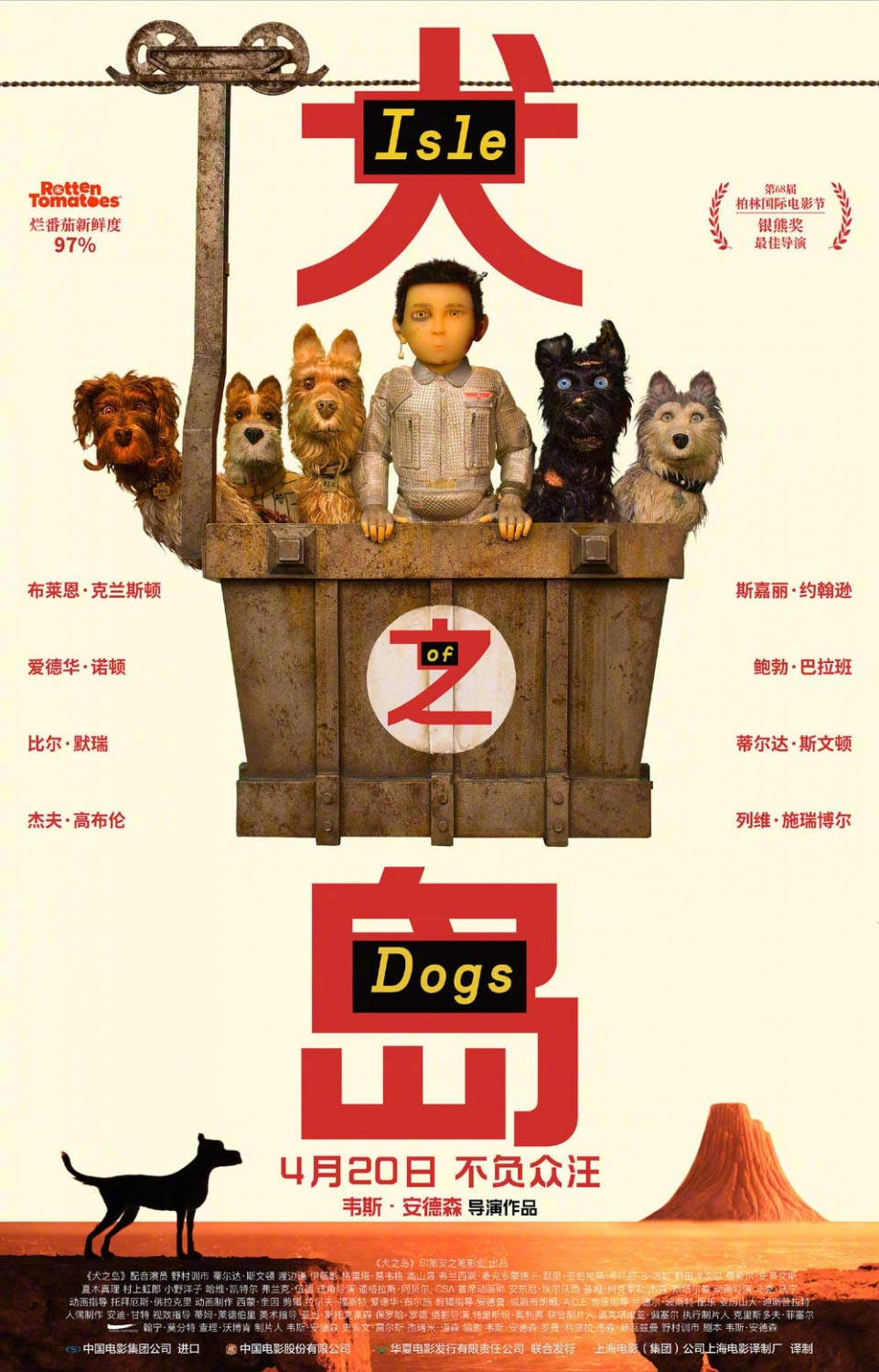 Isle of Dogs Poster #14