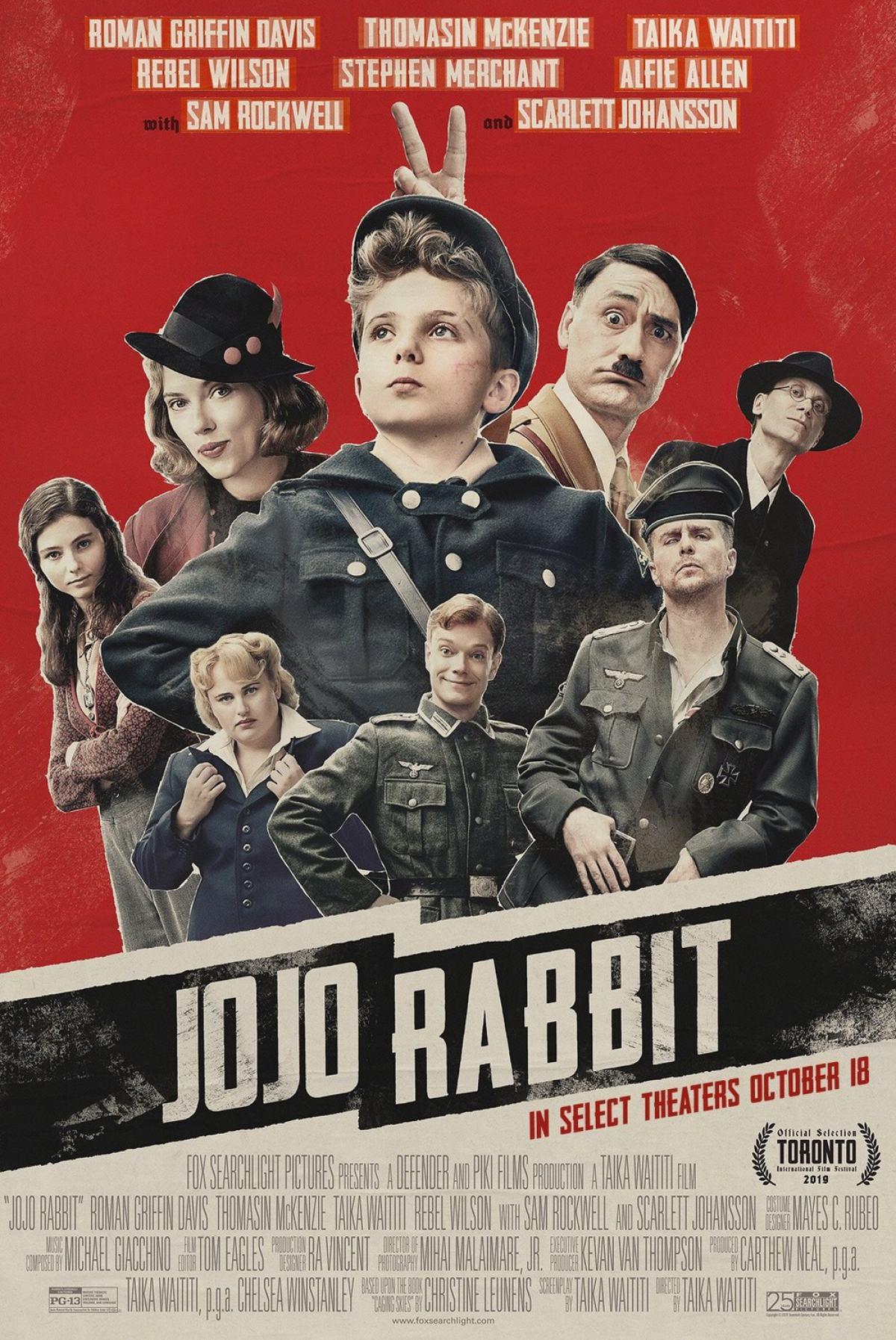Jojo Rabbit Poster #2