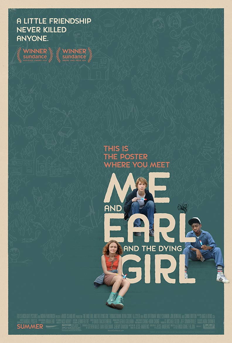 Me and Earl and the Dying Girl Poster #1