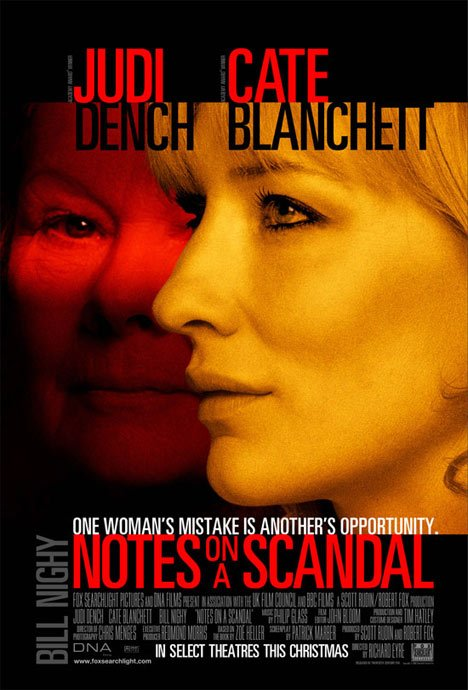 Notes on a Scandal Poster #1