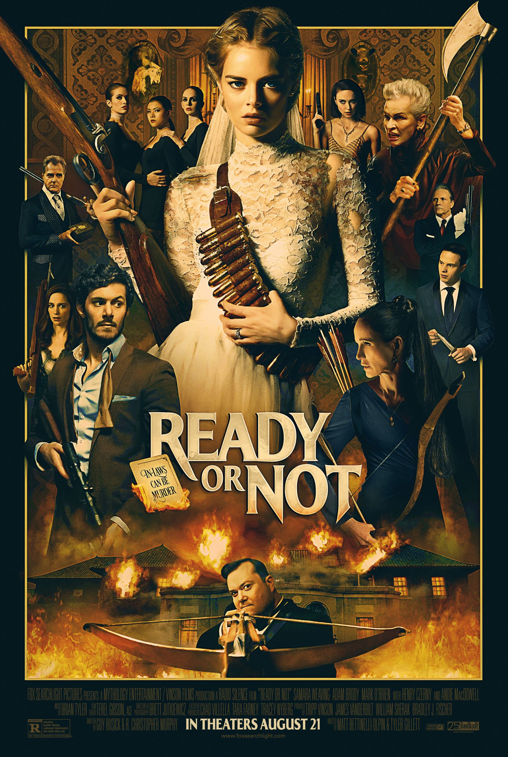 Ready or Not Poster #1