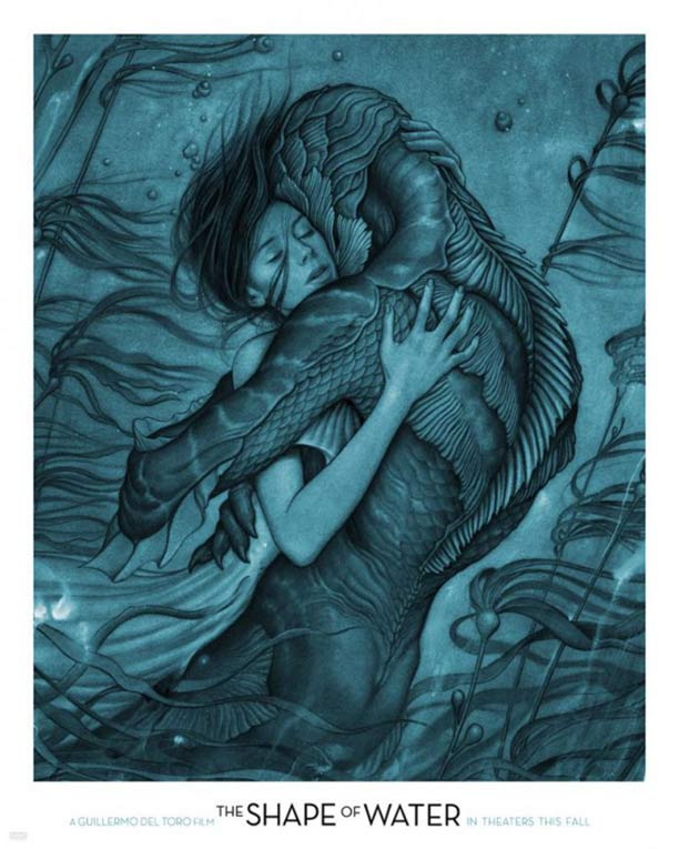 The Shape of Water Poster #1