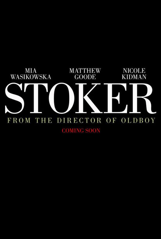 Stoker Poster #1
