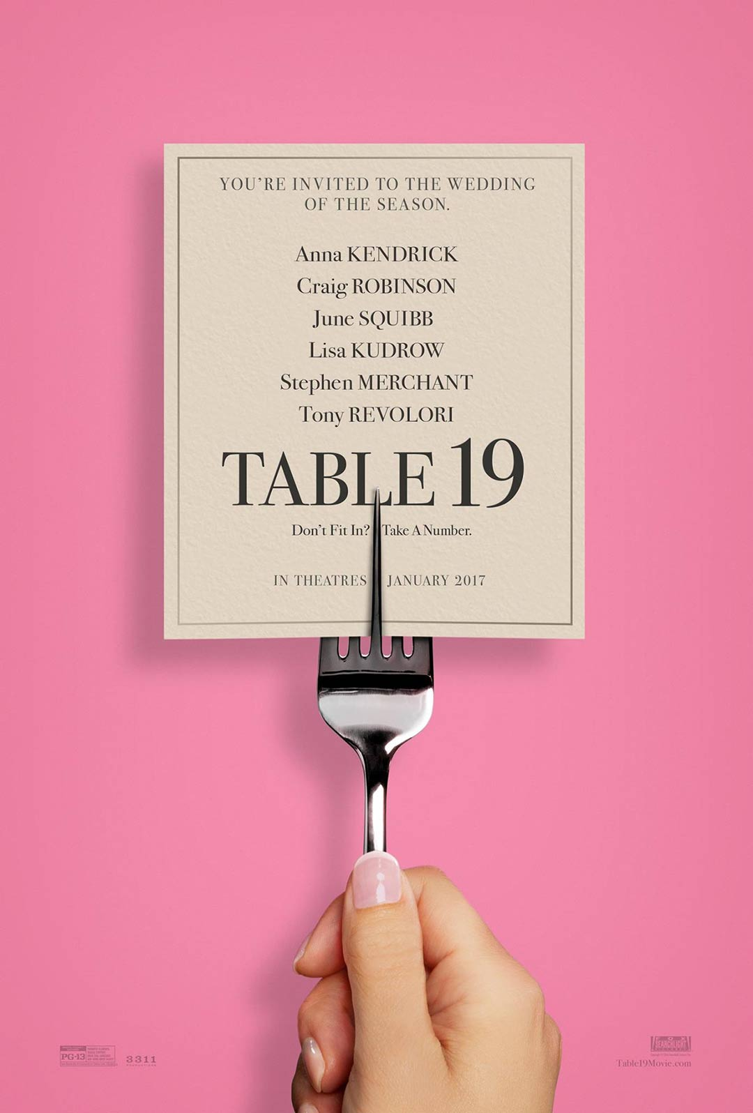Table 19 Poster #1