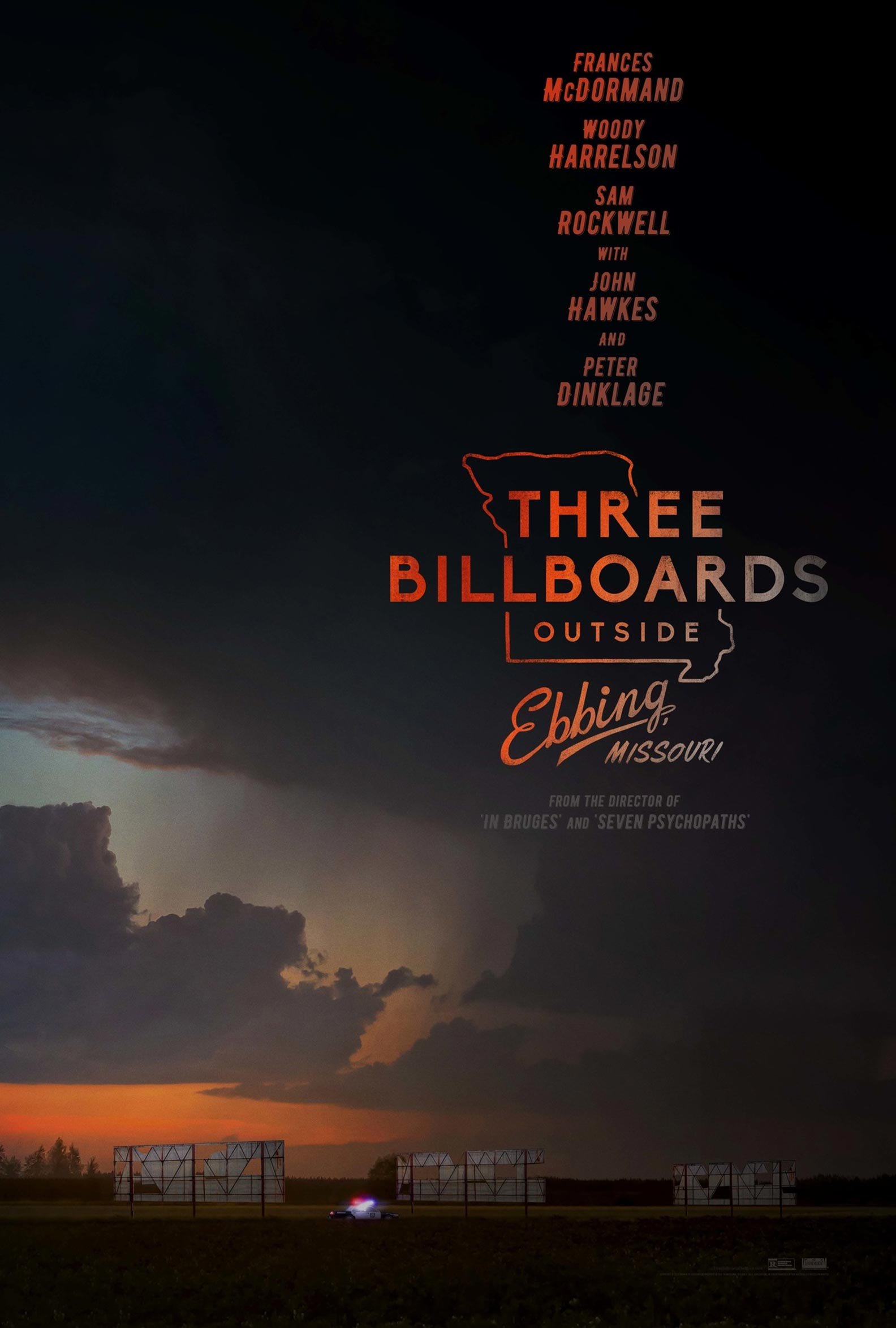 Three Billboards Outside Ebbing, Missouri Poster #1