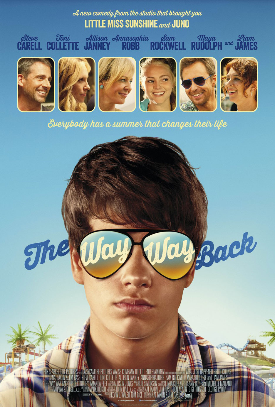 The Way, Way Back Poster #4