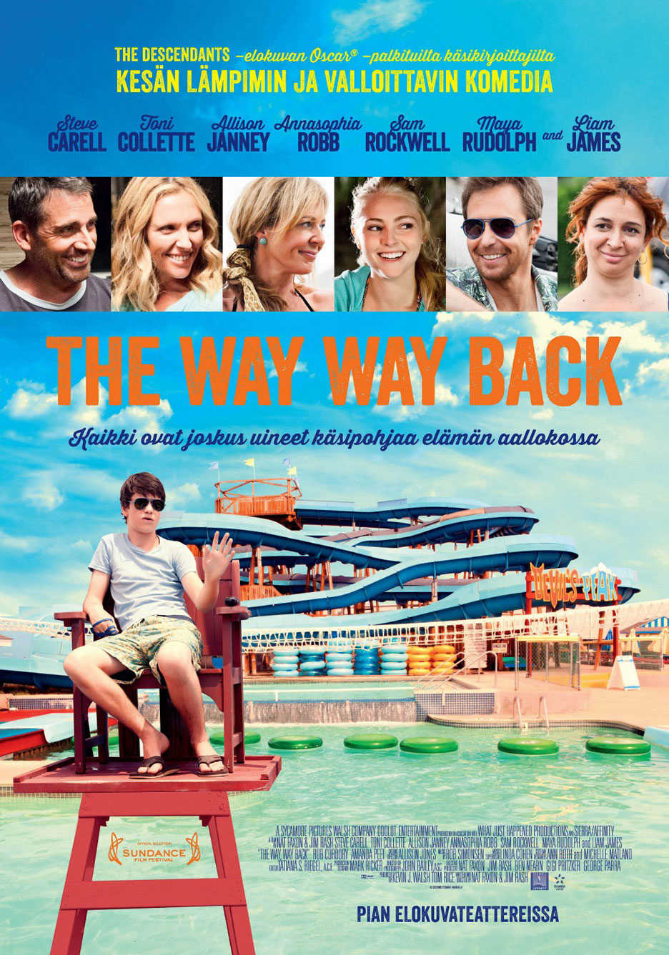 The Way, Way Back Poster #7