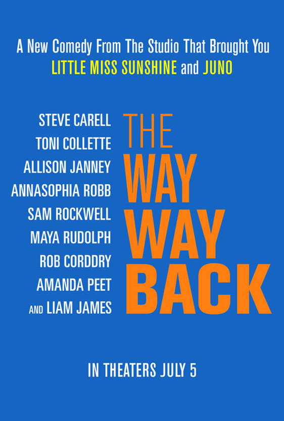 The Way, Way Back Poster #1