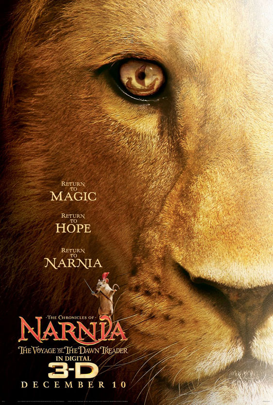The Chronicles of Narnia: The Voyage of the Dawn Treader Poster #1