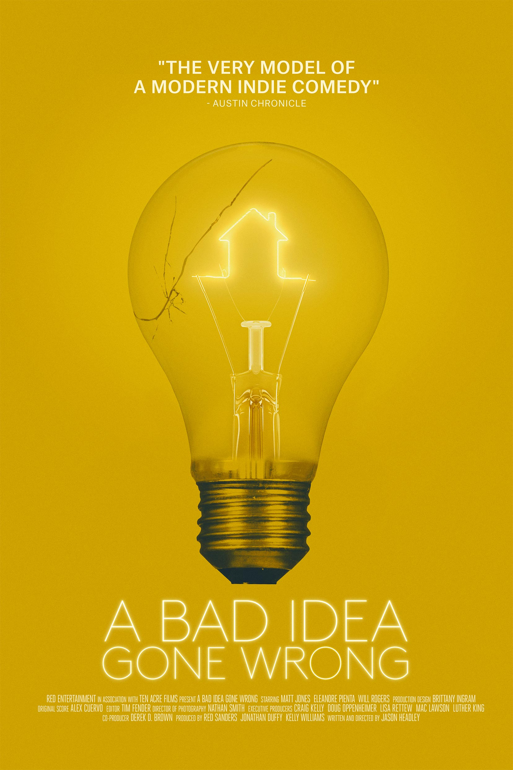 A Bad Idea Gone Wrong Poster #1