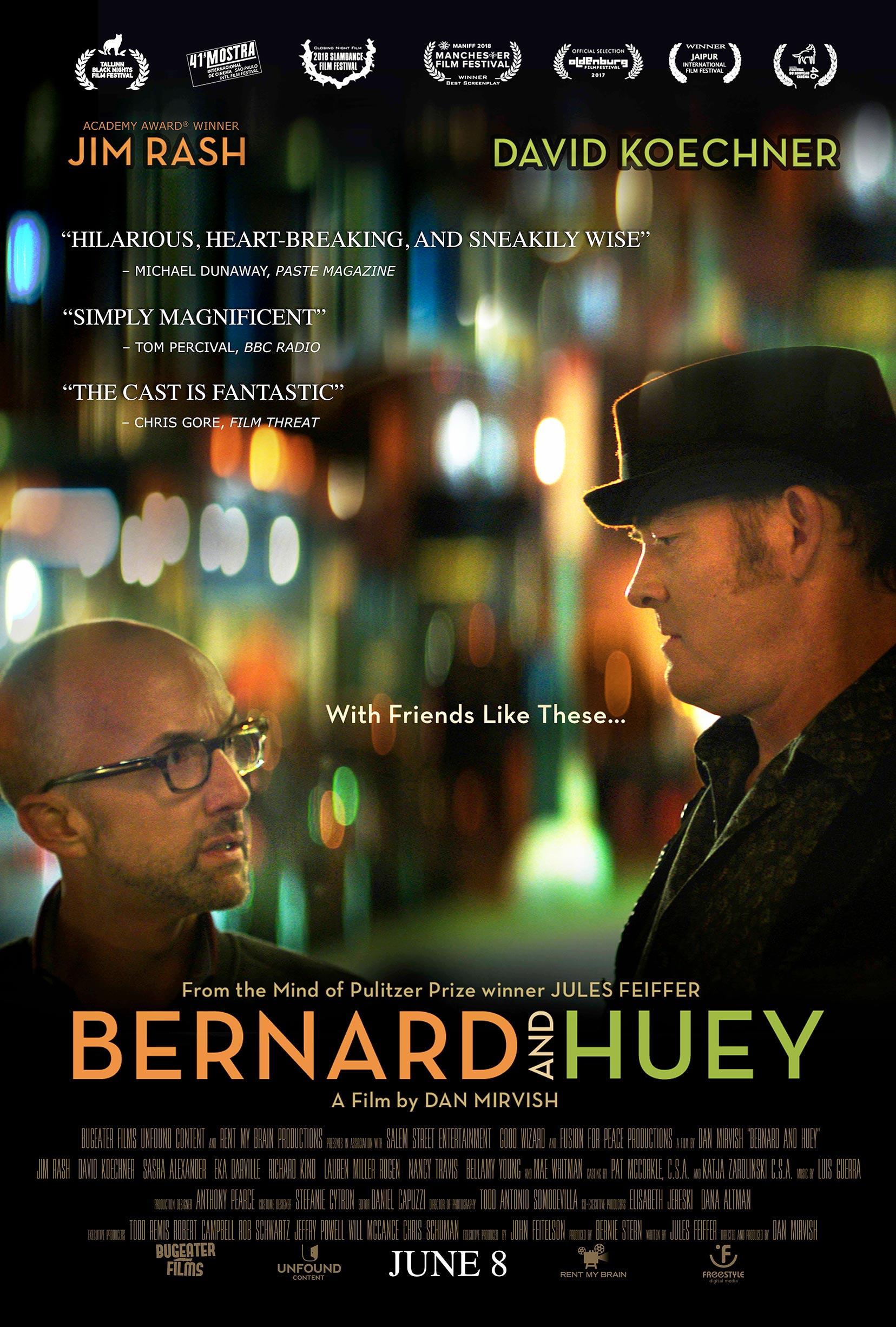 Bernard and Huey Poster #1