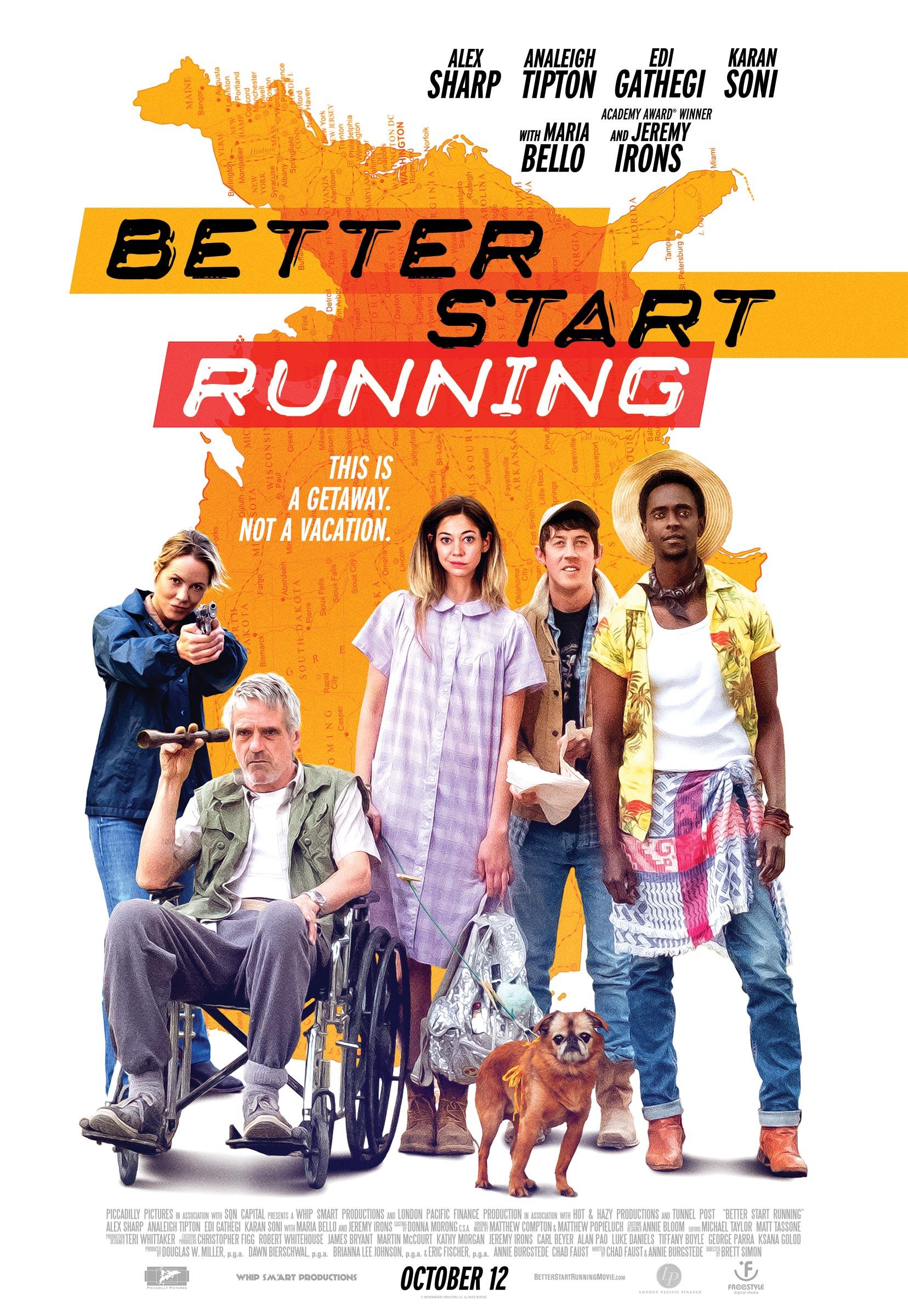 Better Start Running Poster #1