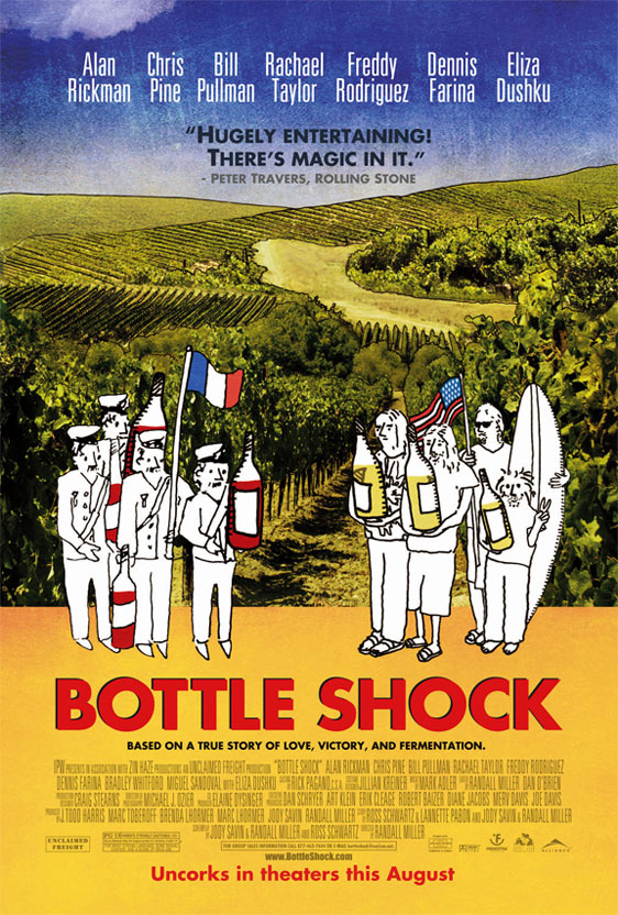 Bottle Shock Poster #2