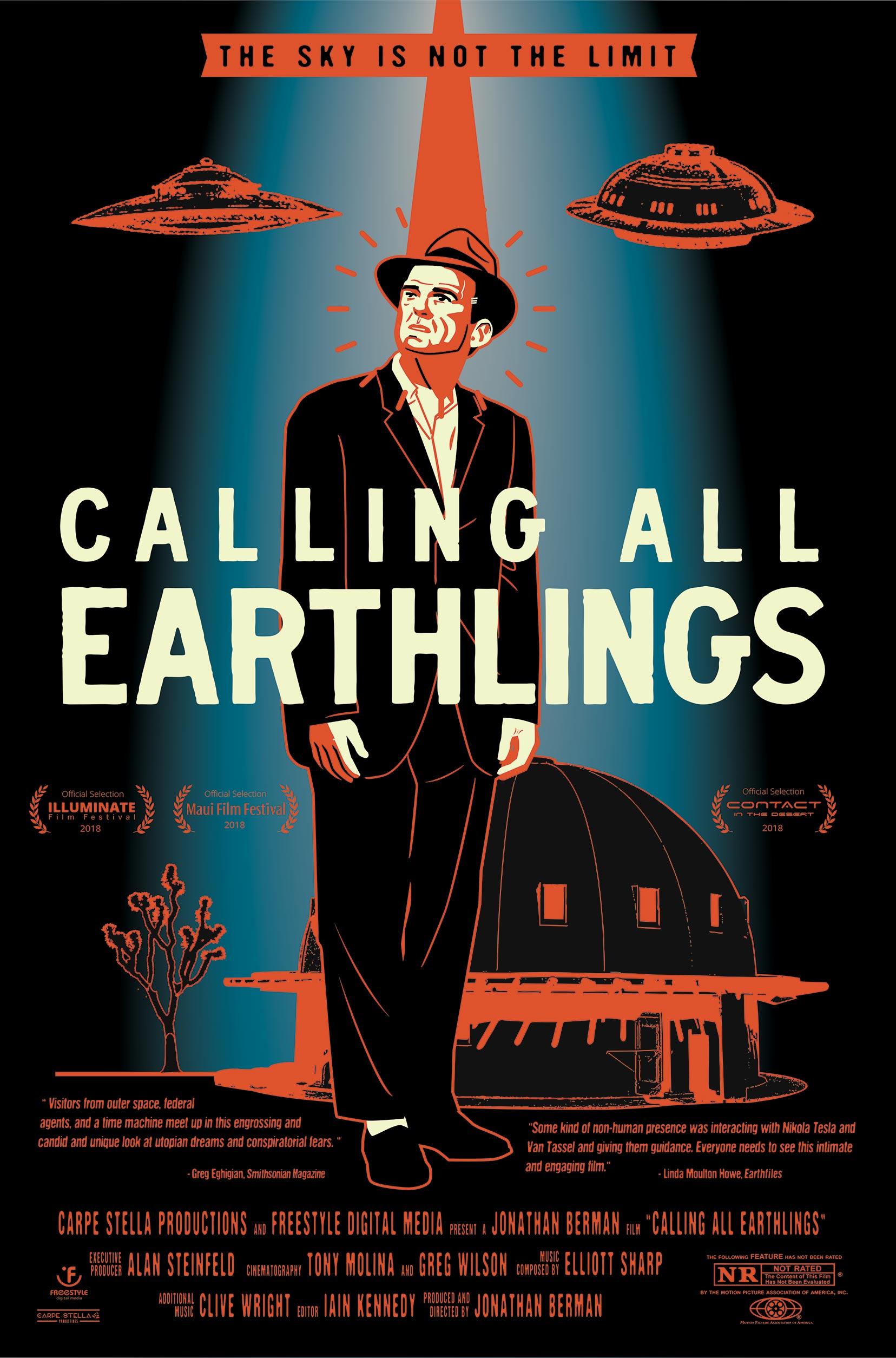 Calling All Earthlings Poster #1