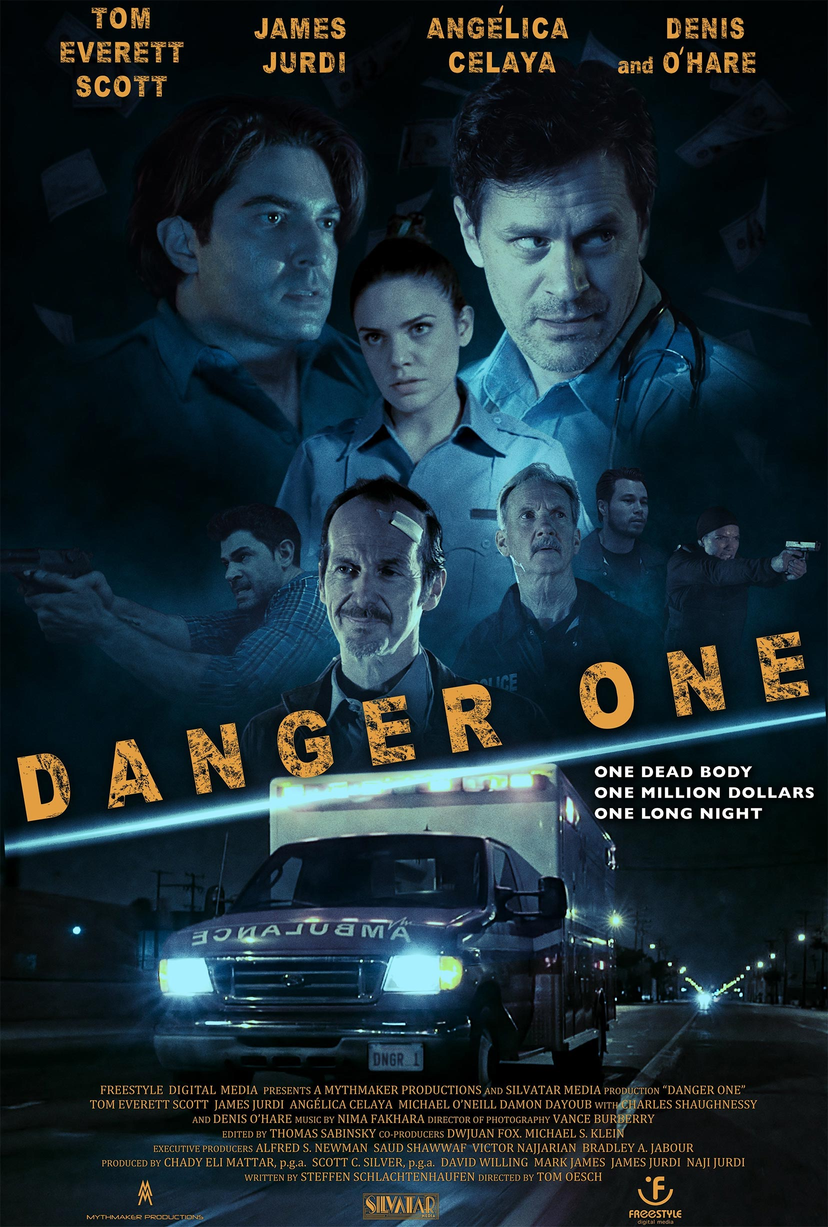Danger One Poster #1
