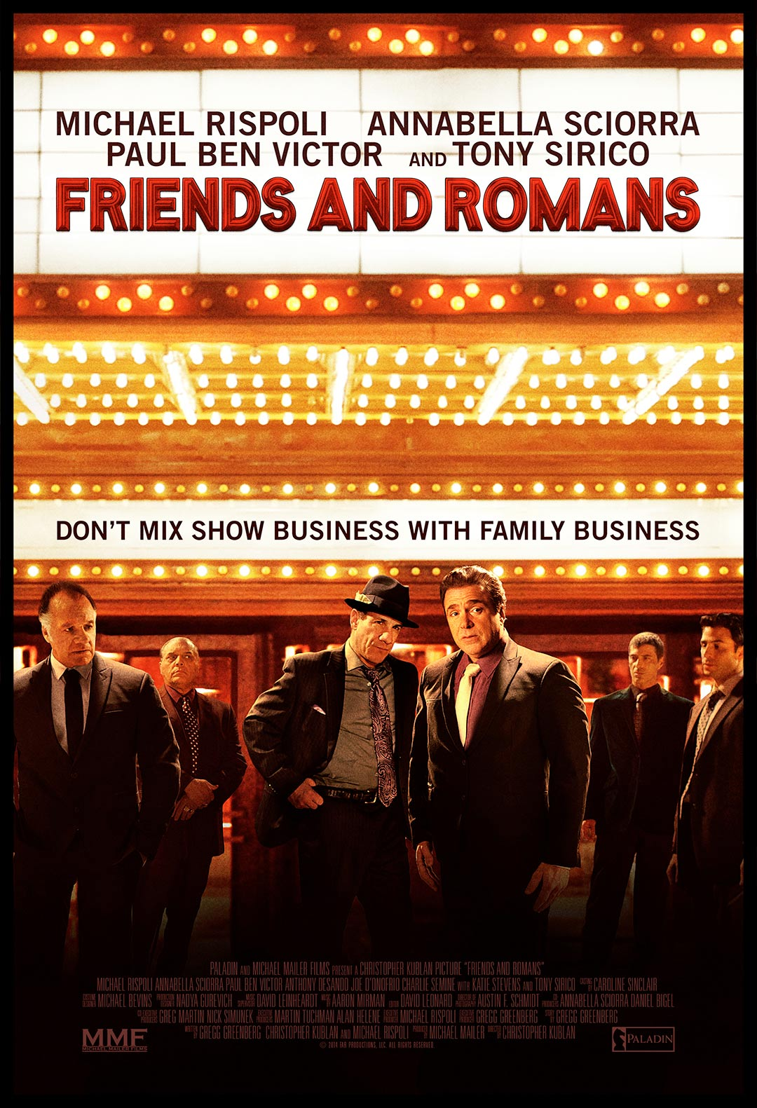 Friends and Romans Poster #1