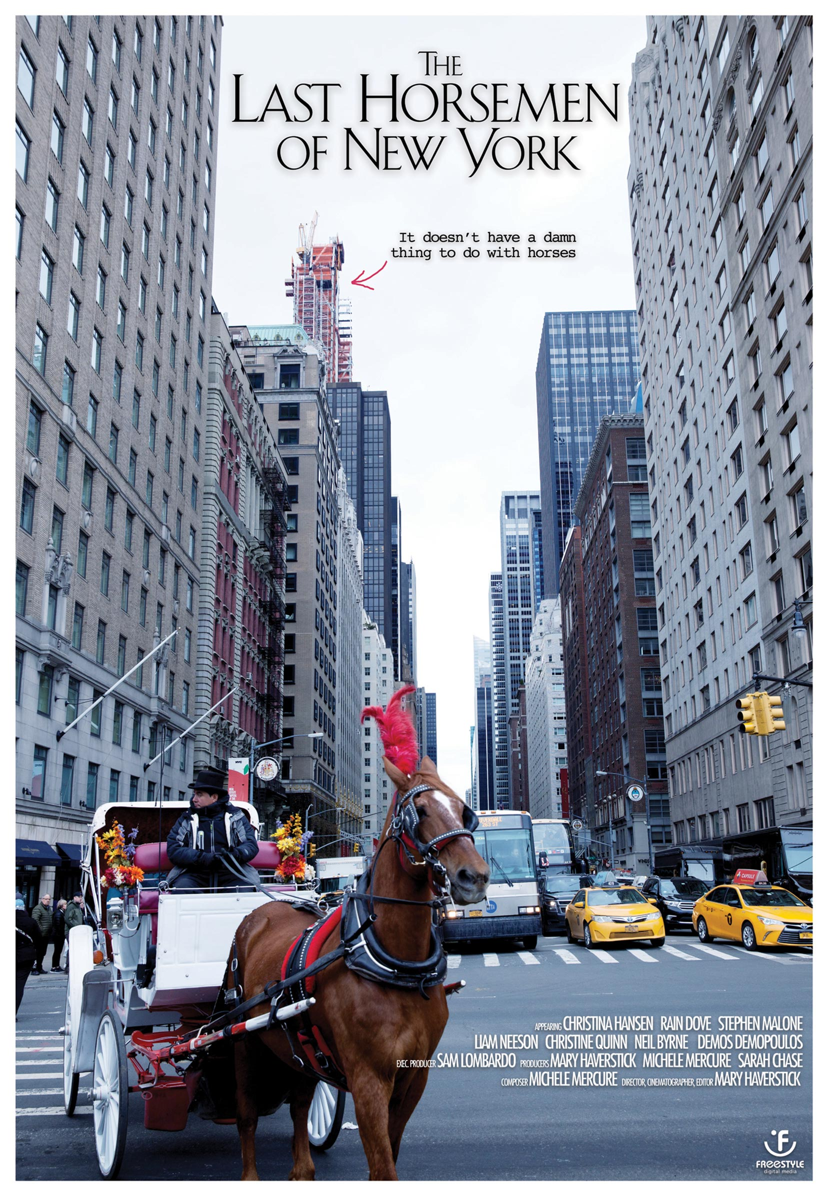 The Last Horsemen of New York Poster #1