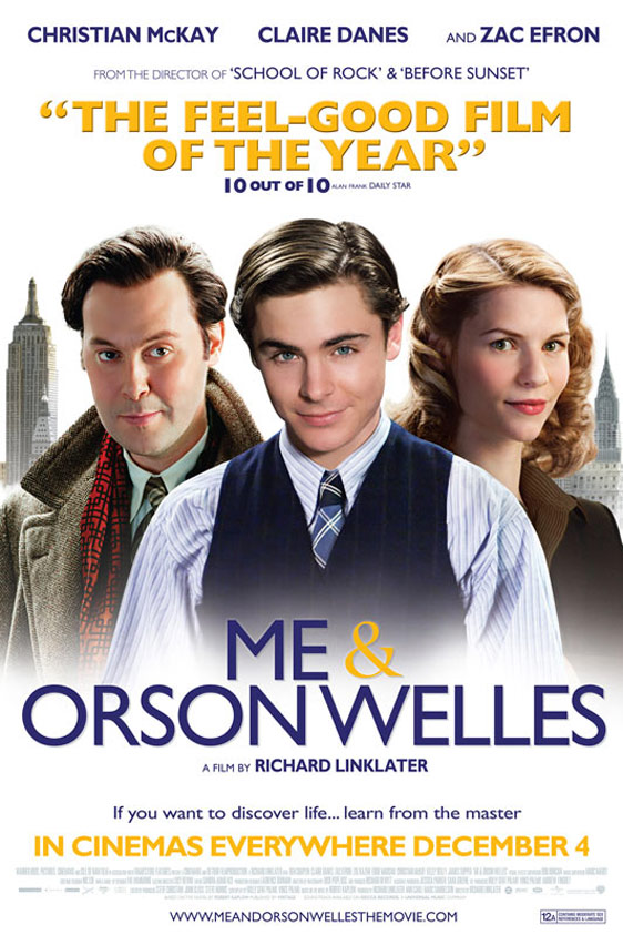 Me and Orson Welles Poster #2