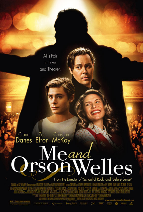 Me and Orson Welles Poster #1