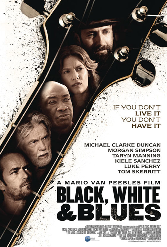 Redemption Road (Black, White and Blues) Poster #2